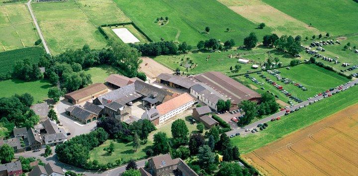 Rittergut Schick von oben